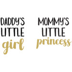 daddy's little girl mommy's little princess