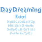 daydreaming font