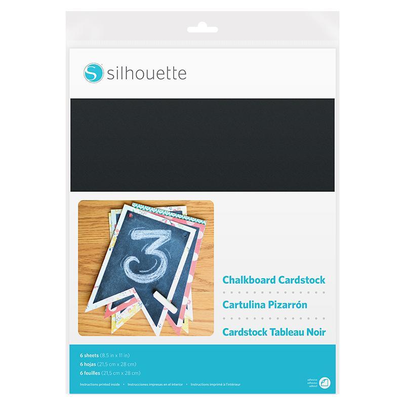 Silhouette America Chalkboard Cardstock Cardstock Chalk