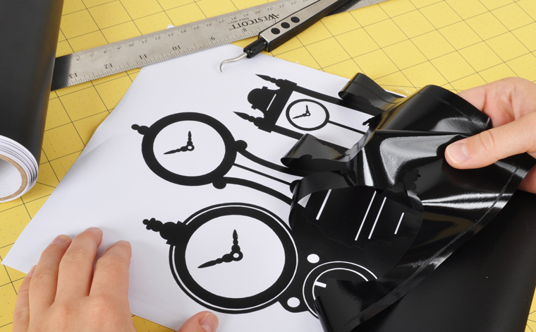 Silhouette America What Can You Make Adhesive Vinyl