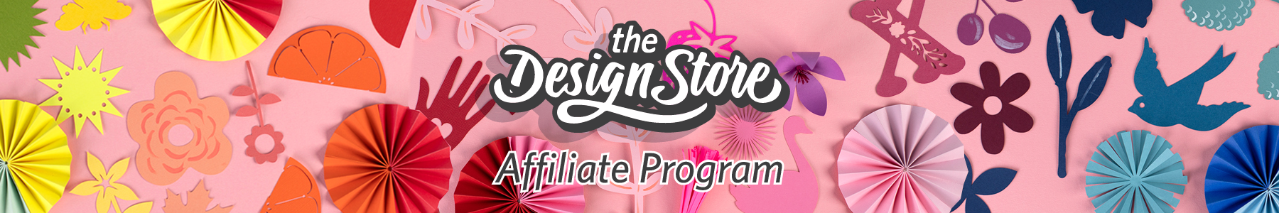 Design Store Affiliate Program Masthead (Desktop)
