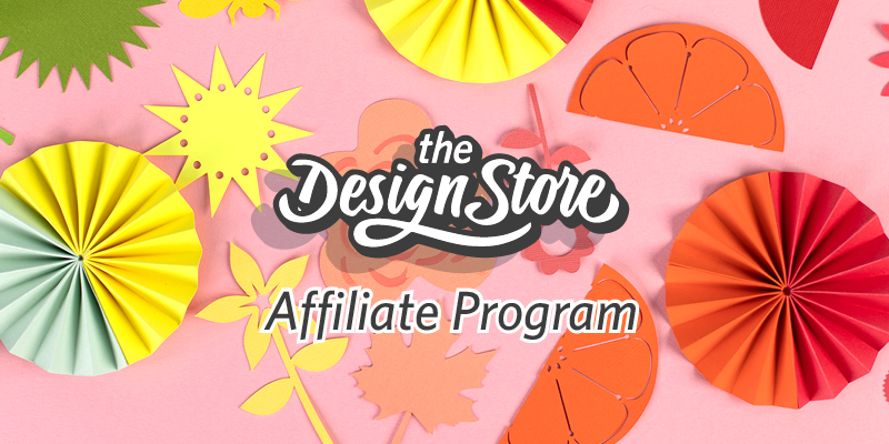Design Store Affiliate Program Masthead (Mobile)