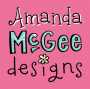 Logo for Amanda McGee