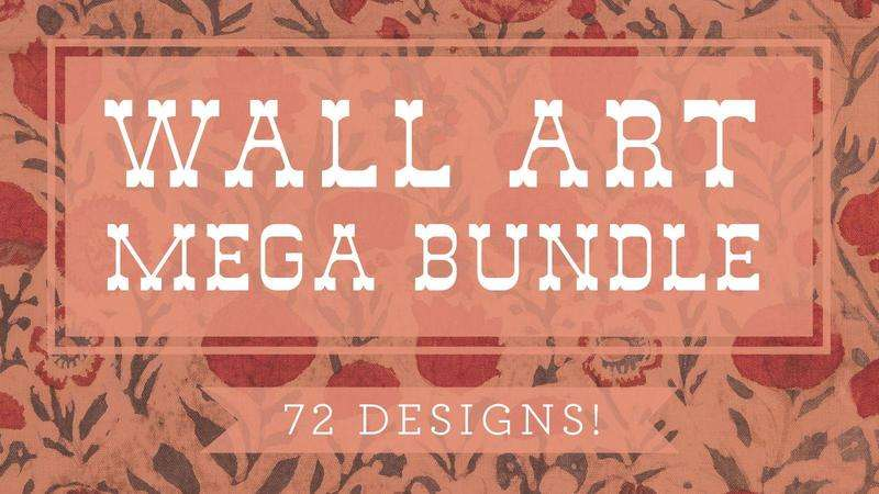 Image for Mega Wall Art Bundle