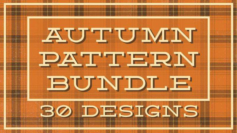 Image for Autumn Pattern Bundle