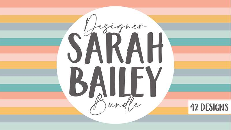 Image for Sarah Bailey Design Bundle