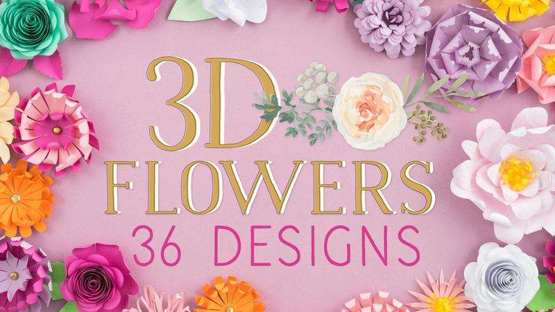 Image for 3d flowers