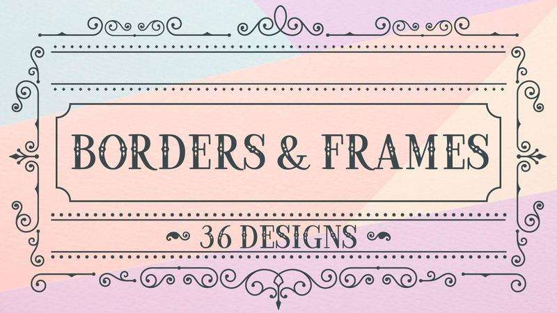 Image for Borders and Frames Bundle