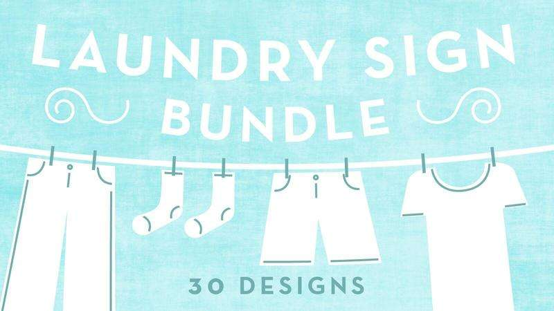 Image for Laundry Sign Bundle