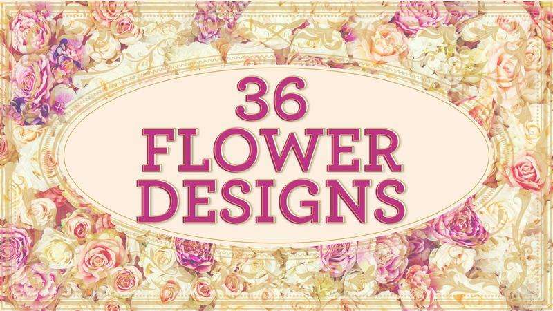 Image for Flower Designs Bundle