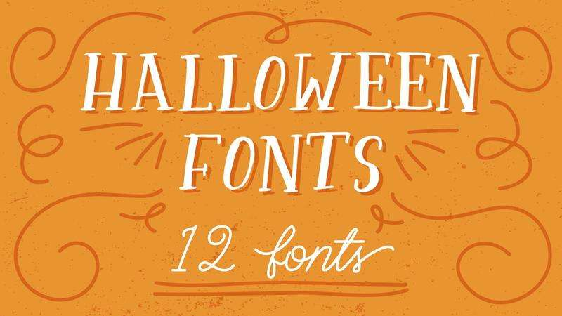 Image for Halloween Font Bundle