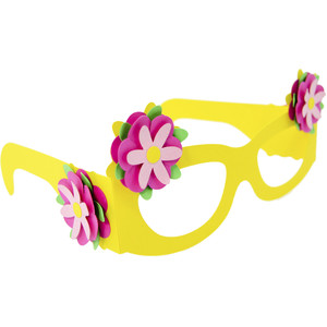 flowers glasses