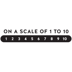 scale 1-10
