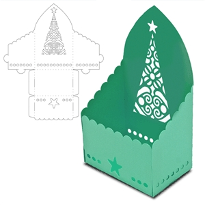 box christmas tree