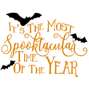 most spooktacular time of the year