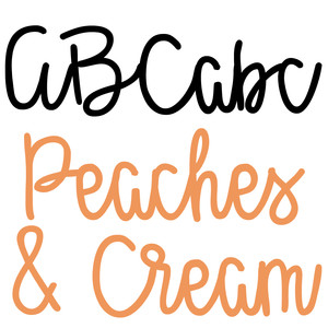kb peaches and cream medium