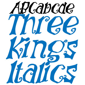 pn three kings italics
