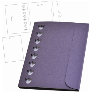 tulip notepad enclosed
