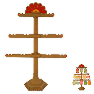 egg tree 3d display stand
