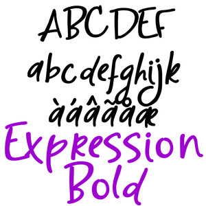 pn expression bold
