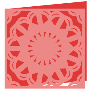lace doily card