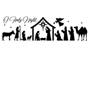 full nativity o holy night