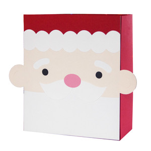 santa claus bag box