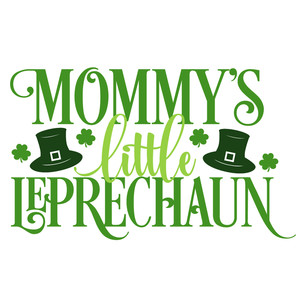 mommy's little leprechaun