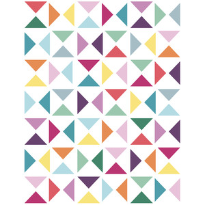 quilt triangles background 8.5x11