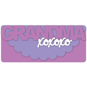grandma-xoxo card kit