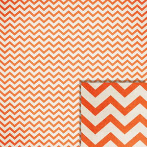 halloween orange chevron background paper