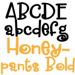 zp honeypants bold
