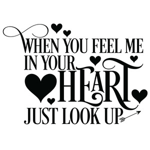 when you feel me in your heart quote