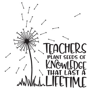 teachers plant seeds of knowledge