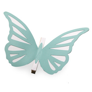 charming coloring butterfly clothes pin