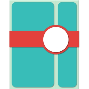 belly band circle card