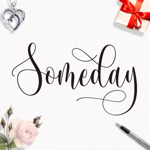 someday font