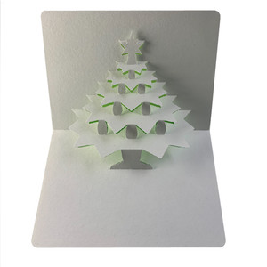 x-mas tree 2 popup card