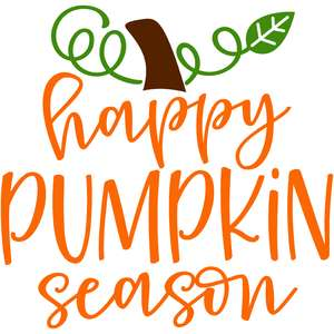 happy pumpkin season