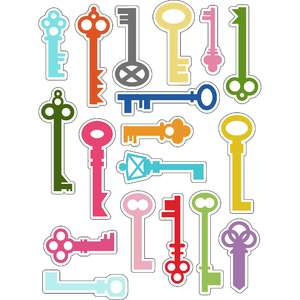 ml keys keys stickers