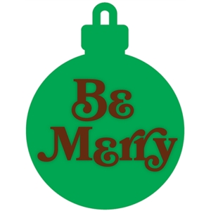 be merry ornament