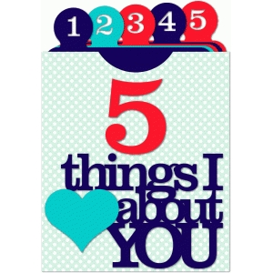 lori whitlock '5 things i love about you' library pocket