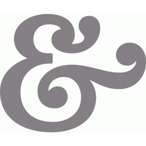 fancy ampersand