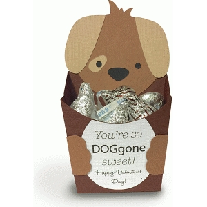 dog favor box