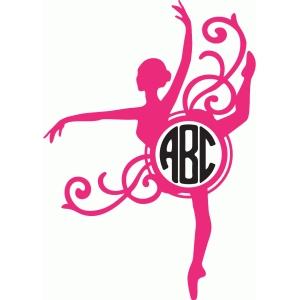 Silhouette Design Store View Design 83600 Ballerina