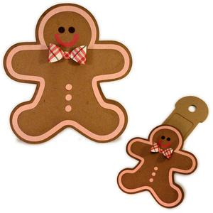 gingerbread boy hidden gift card
