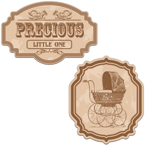 vintage labels - precious little one