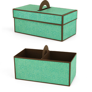 2 compartment cookie box