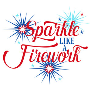 sparkle like a firework