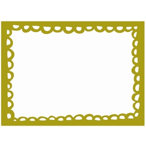 sketch scallop frame